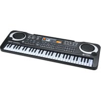 61 Keys Electronic Piano Keyboard with Microphone Kids Musical Toy Gift